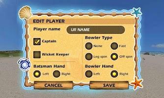 Screenshot of Beach Cricket Pro