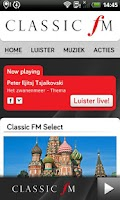 Screenshot of Classic FM (NL)