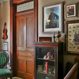 Great Grandfather's Man cave. by Tim Hall - Buildings & Architecture Other Interior ( turm of the century, american civil war, rococo, victorian, woodwork, parlour, historical, nineteenth century, den, paintings, 1800s, antiques )