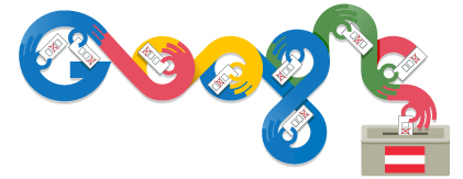 Google Doodle Austria Elections 2013