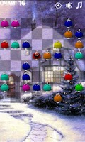 Screenshot of Funny Bubbles Xmas