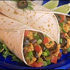 Easy Chicken Salsa Wraps (Stove Top or Crock Pot)