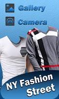 Screenshot of New York Man Wear Photo Maker