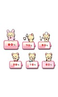 Screenshot of Rilakkuma Battery Widget 5