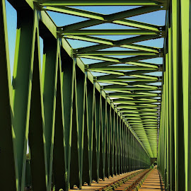 Bridges by József Király - Buildings & Architecture Bridges & Suspended Structures ( hungary, budapest, bridges )