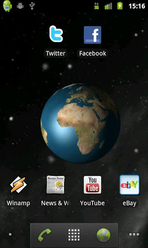 Mother Earth Live Wallpaper
