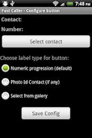 Screenshot of Fast Caller
