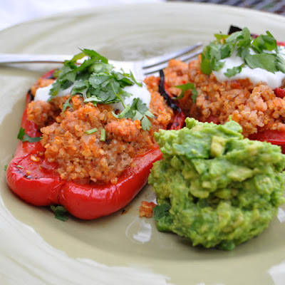 Basic Stuffed Pepper