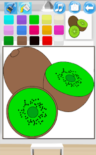 Coloring Fruits Paint - screenshot
