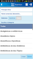 Screenshot of Manual de Medicamentos Nestlé