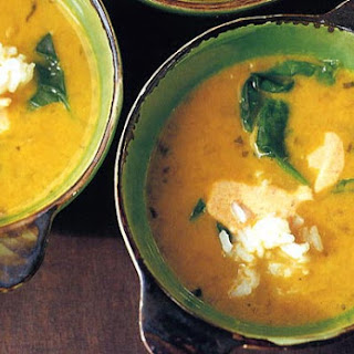 Yellow Pea and Coconut Milk Soup