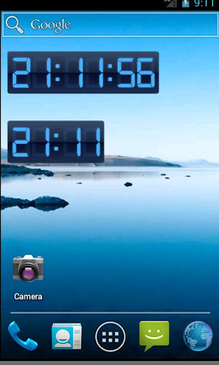Digital Clock Widget Pro