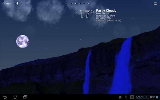 True Weather, Waterfalls - screenshot