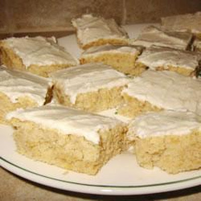 Iced Banana Bars