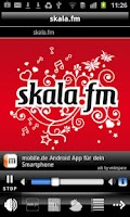 Screenshot of skala.fm