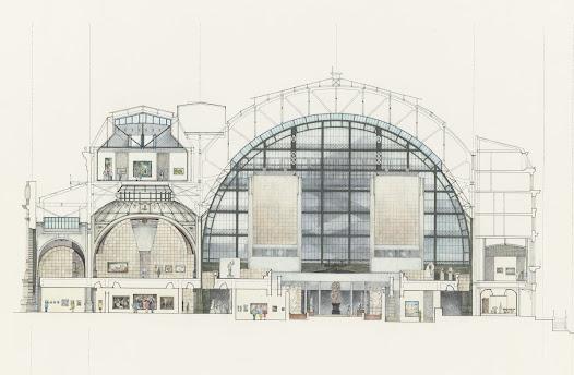 Une seconde consultation lancée en 1980, désigne la célèbre décoratrice italienne Gae Aulenti pour l'aménagement intérieur.C'est elle qui imagine les deux tours qui ferment l'allée centrale, une architecture forte, capable de s'imposer dans l'immense volume de la nef.