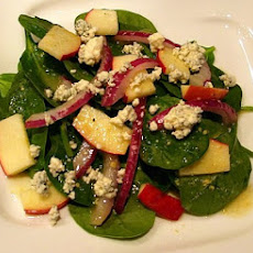 Autumn Apple & Spinach Salad