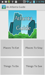 An Atlanta Guide - screenshot