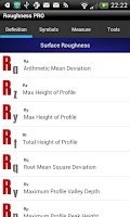 Screenshot of Roughness Pro