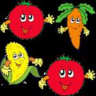 Veggie Fun Memory for Kids icon