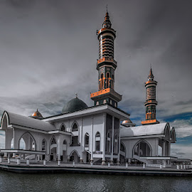 mosque by Edy Djunarko - Buildings & Architecture Places of Worship