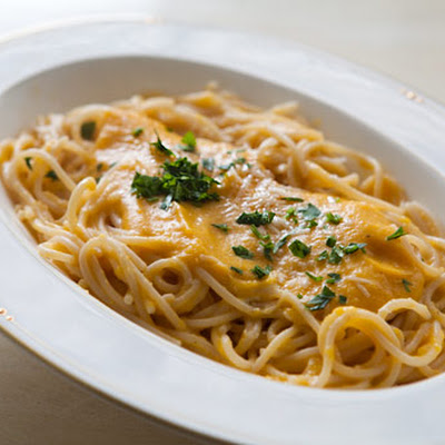 Pasta with Butternut Parmesan Sauce
