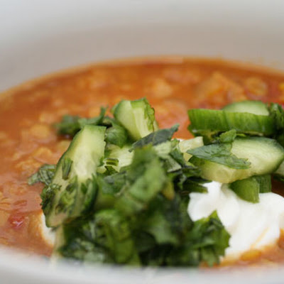 Indian Spiced Lentil Soup