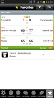 Screenshot of betscores®  live scores & odds