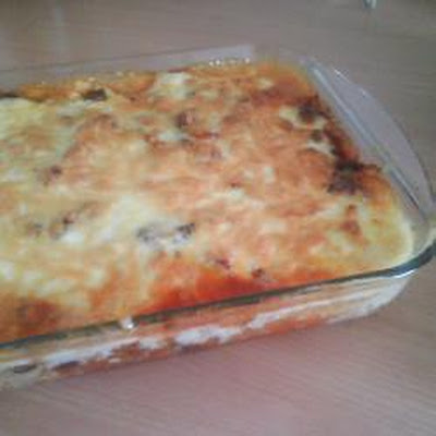 Cara's Corn Chip Chilli Lasagna