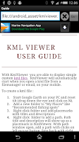 Screenshot of KMLViewer