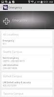 Screenshot of m.UW