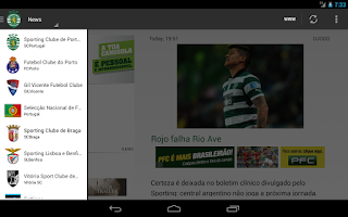 Screenshot of SCPortugal