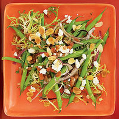 Green Bean Salad with Salsa Dressing