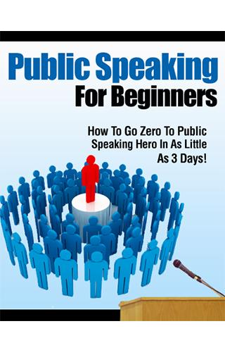 Public Speaking for Beginners