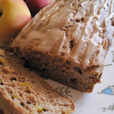 Frosty Peach Bread