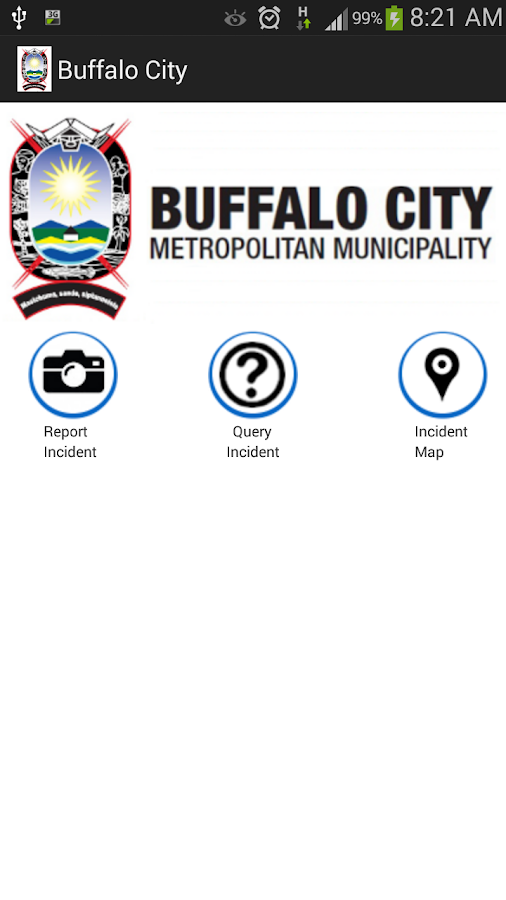 BCMM Mobile Municipal App Screenshot 3