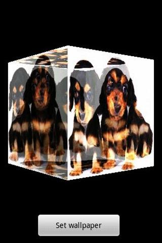 3Dかわいい犬A23