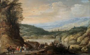 RIJKS: Joos de Momper (II): painting 1635