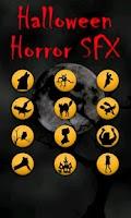 Screenshot of Halloween Horror Sounds