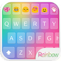 App Rainbow Love Emoji Keyboard APK for smart watch