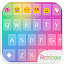 APK App Rainbow Love Emoji Keyboard for iOS