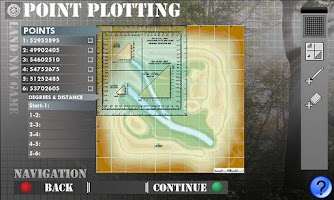 Screenshot of Land Navigation