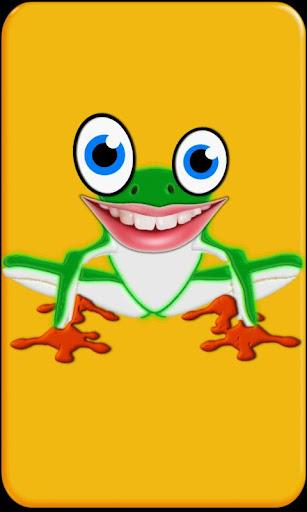幼児向けゲーム: キューティーフロッグ