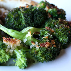 Buttered Garlic Panko Broccoli