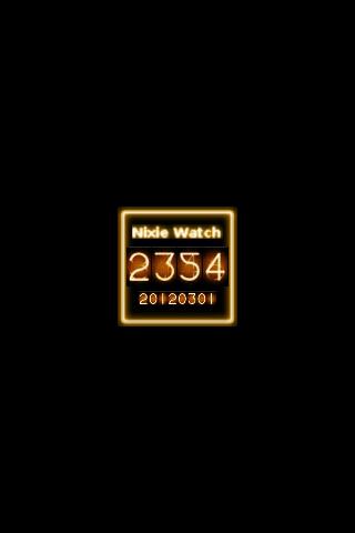 Nixie Watch