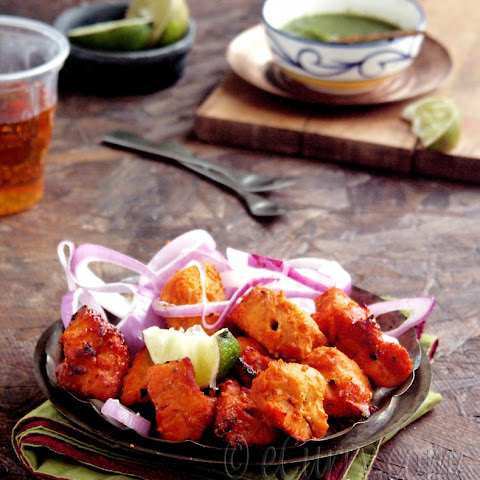 Murgh Tikka – Spiced Skewered Chicken