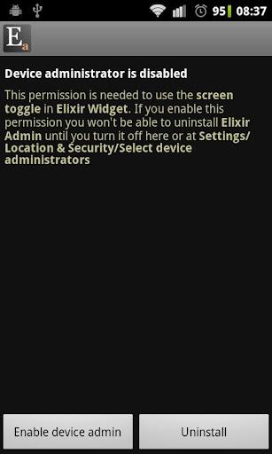 Elixir 2 - Admin add-on