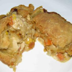 Tasty Chicken And Vegetable Pie