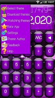 Screenshot of SCalc theme Jelly Purple