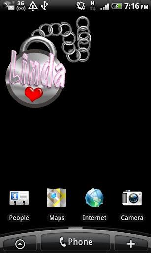 Linda Name Tag